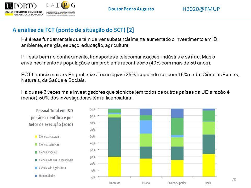 A análise da FCT (ponto de situação do SCT) [2]